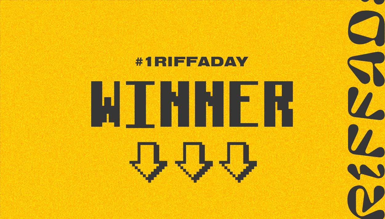 1RiffADay Winner Featured Img