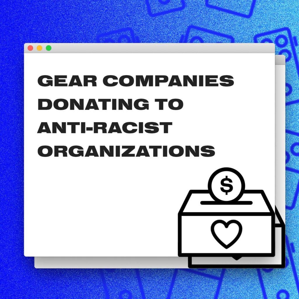 Gear Donate Anti Racism Web