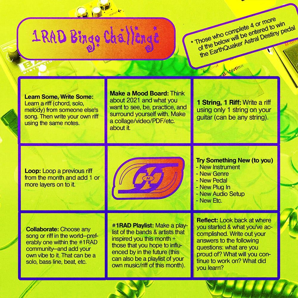 1RAD Bingo Web