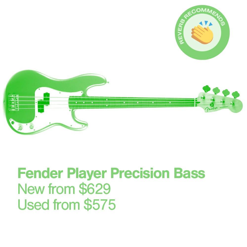 16 Fender Player Precision Bass