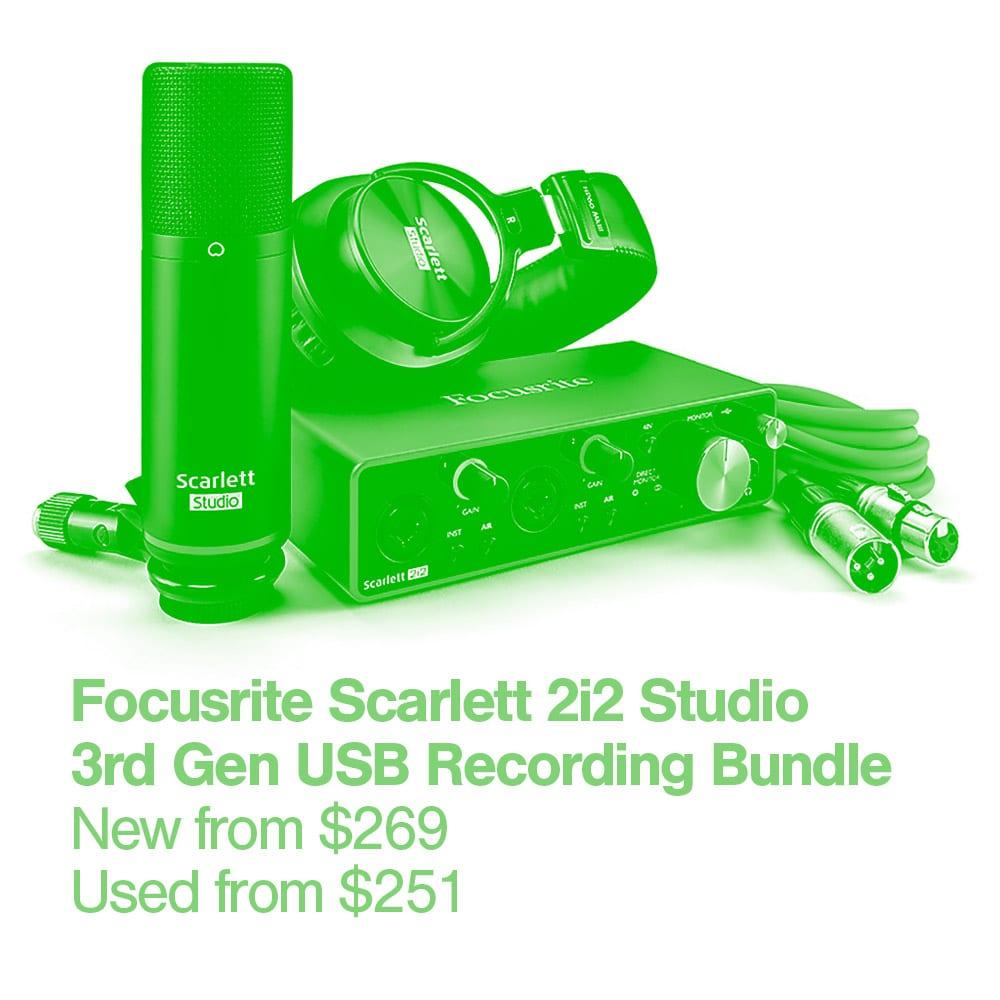 9 Focusrite Scarlett 2i2