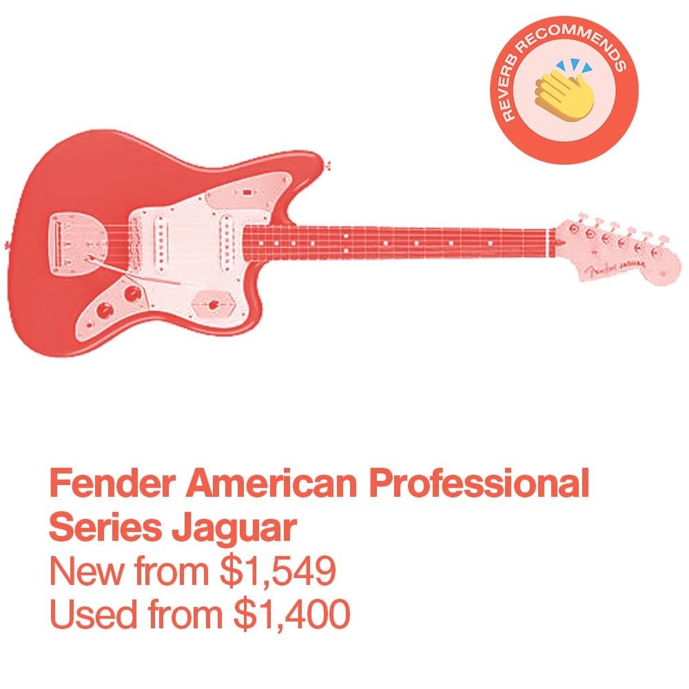 R Fender American Professional Series Jaguar